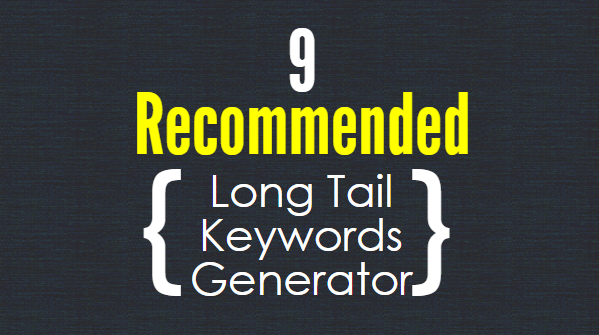 Long Tail Keywords Generator