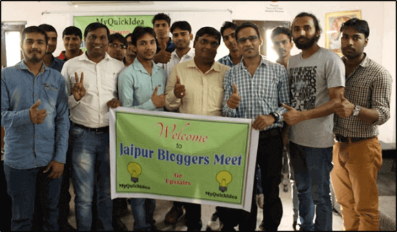 Flashback jaipur bloggers meet