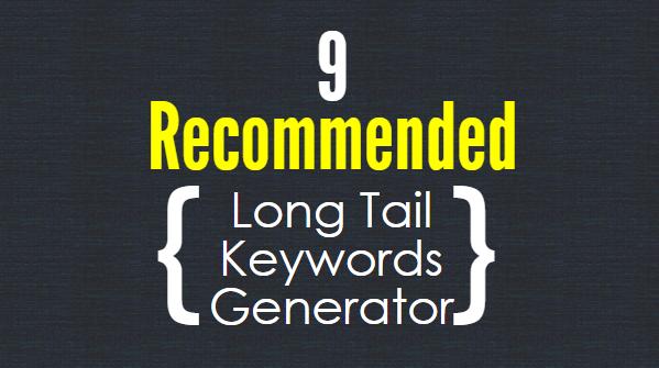 Long Tail Keywords Generator