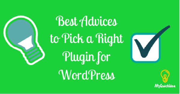 Best Advices to Pick a Right Plugin for WordPress
