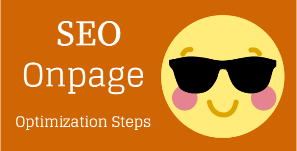SEO Onpage Optimization Steps