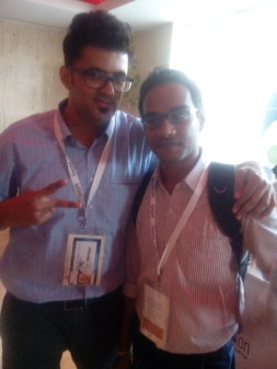 At Affiliate Summit With Jitendra vaswani