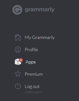 grammaly extension