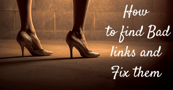 How to Find Bad Links