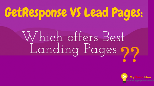 GetResponse VS Lead Pages