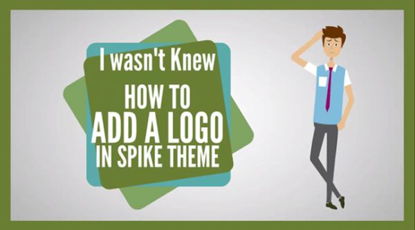 Add A logo in Spike Theme