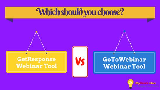 GoToWebinar VS GetResponse Webinar Tool Review