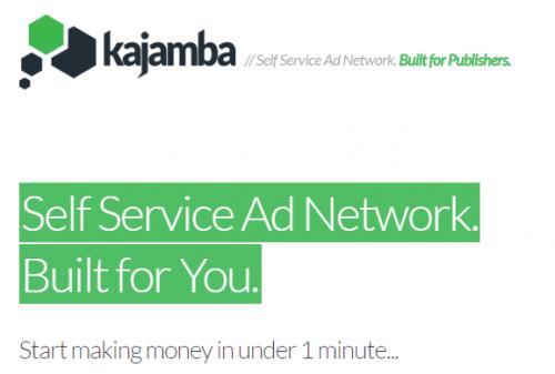 Kajamba Self Service Ad Network
