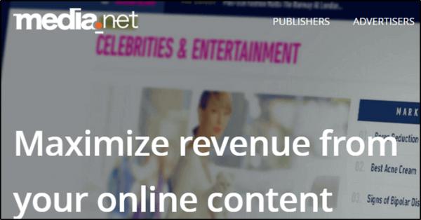 Media net Contextual Ads