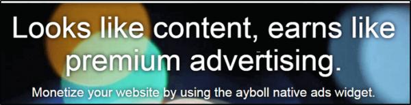 ayboll advertisement network