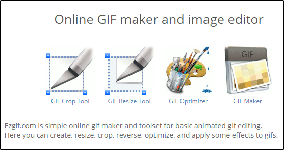 ezgif Animated GIF editor and GIF maker