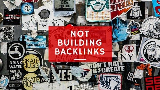 blogging problems: Not building backlinks