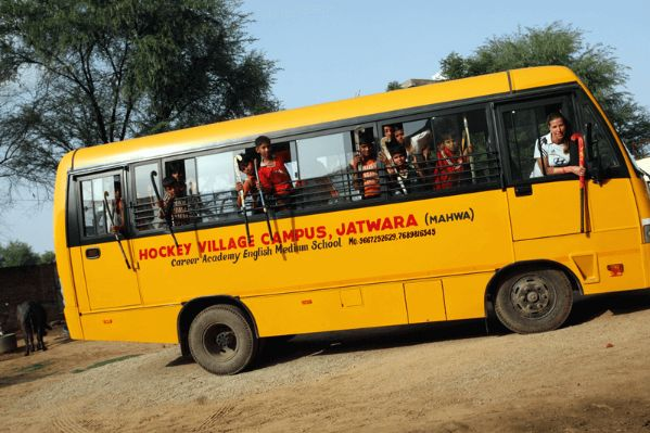 Hockey Village India Bus