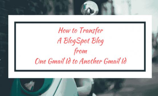 Transfer Blogspot Blog OwnerShip