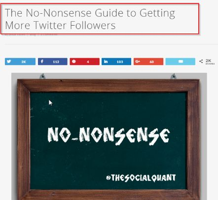 Get More Twitter Followers_ The Non-Nonsense Guide