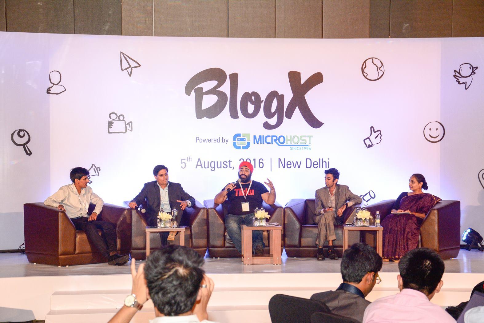 Panel Discussion: BLOGGING - KAL, AAJ AUR KAL