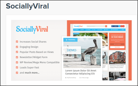 SociallyViral Theme Coupon Code