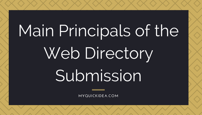 directory submission list