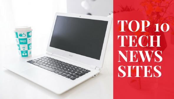 top 10 tech news websites