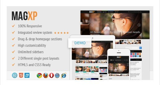 MagXP - Ultimate Magazine WordPress Theme