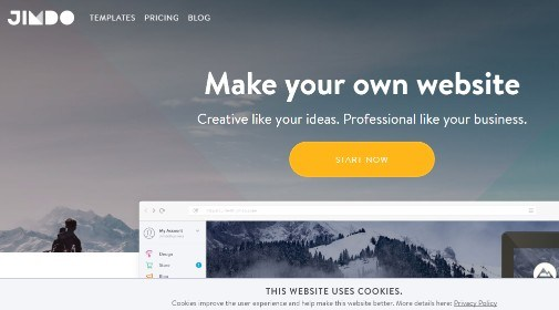 jimdo website creator