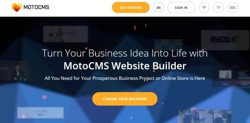moto cms website builder