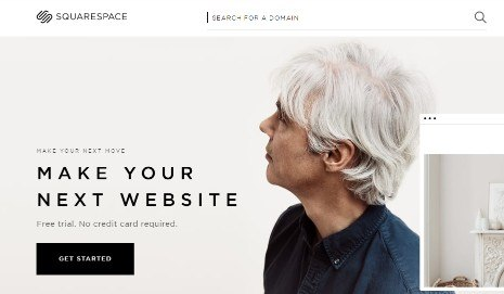 squarespace site builder