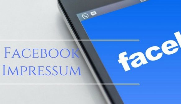 What is Facebook Impressum and How to Apply it to FB Fan page