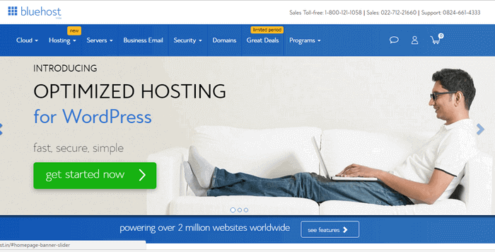 Bluehost India Discount Coupon 2017