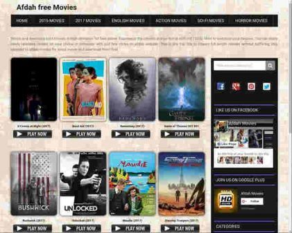 best sites for free movies 2017