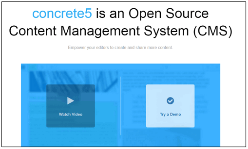 concrete5 cms website builder