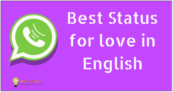 1000 Best Status For Whatsapp In English For Love