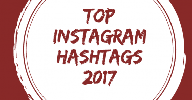 Top Instagram Hashtags 2017