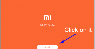 mi pc suite installation process on windows