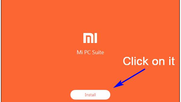 mi pc suite installation process on windows