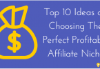 Top 10 Ideas on Choosing The Perfect Profitable Affiliate Niche