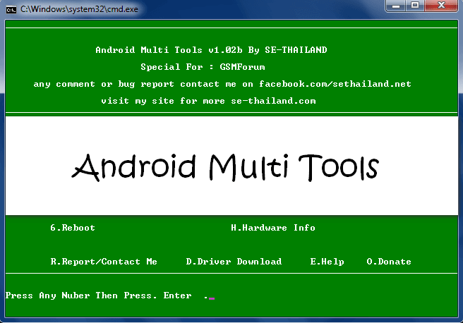 Android Multi Tools V1 02b Free Download For Windows Xp/Vista