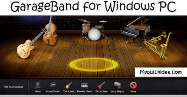 download GarageBand for Windows PC