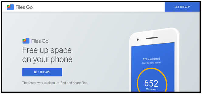 Free Up Device Storage and Organize your Media with the Google Files Go App