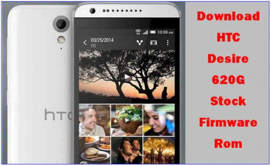 Download HTC Desire 620G Stock Firmware Rom