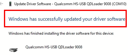 Download Qualcomm QDLoader USB Driver 10