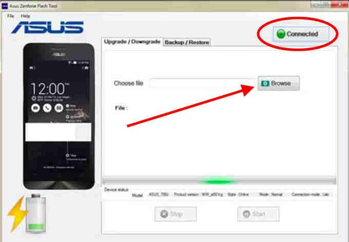 Asus Zenfone Flash Tool 2
