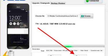 Asus Zenfone Flash Tool 3