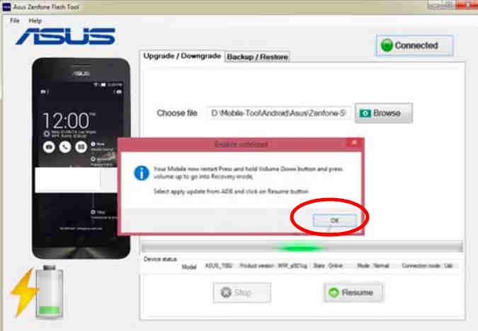 Asus Zenfone Flash Tool 4