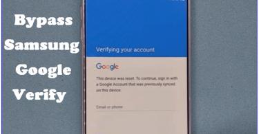 Download Samsung Bypass Google Verify Apk