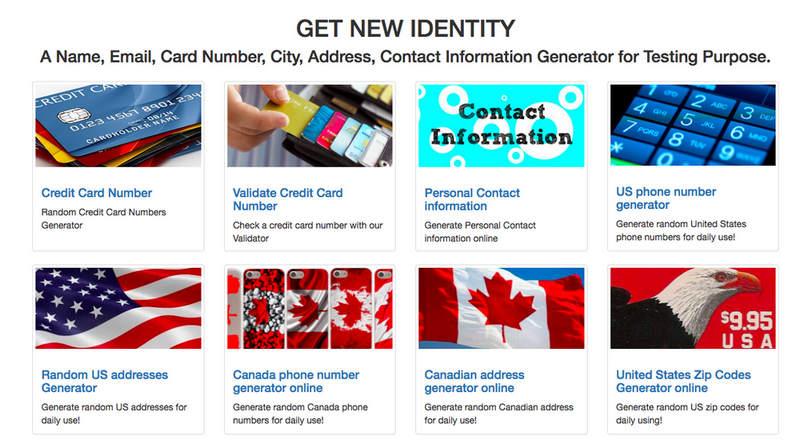 Get New Identity