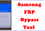 Samsung FRP Bypass Tool Download Free 2018
