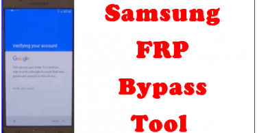 Download Samsung FRP Hijacker 2019 to Remove Samsung FRP Lock