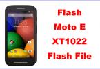 Moto E XT1022 Flash File and Tool Flash Moto E Firmware