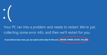 Fix Driver Power State Failure in Windows 10